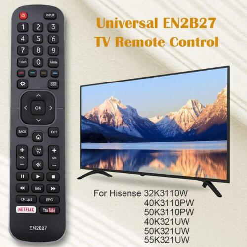 Remote control en2b27 for Hisense 32k3110w 40k3110pw 50k3110pw 40k321uw 50k321uw