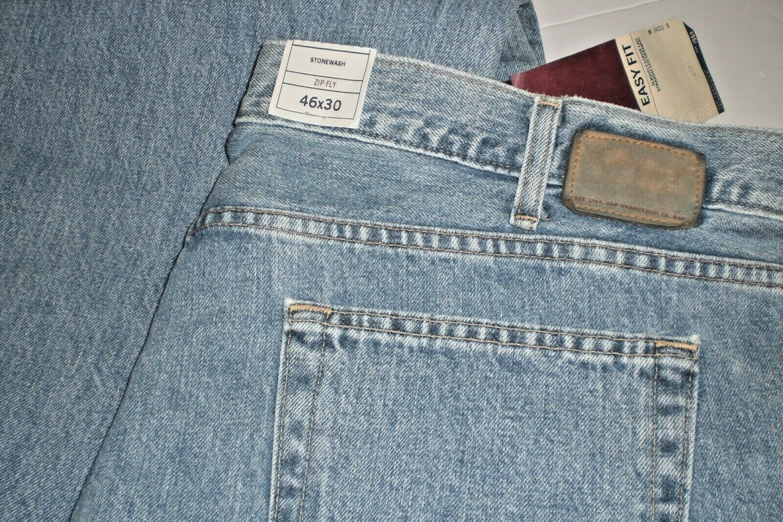 Gap 1969 Men's Jeans Easy Fit Light Wash Size 46 x 30 NWT 2 PAIR