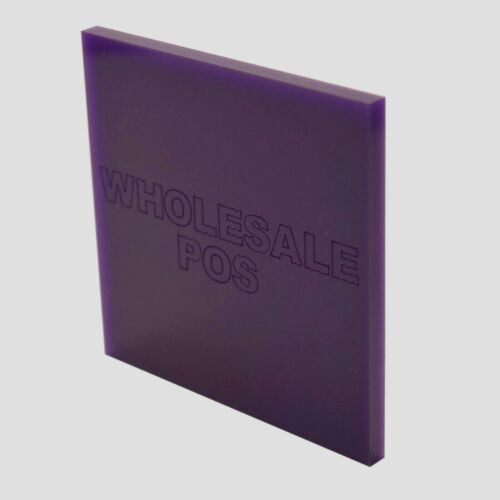 Purple Violet Gloss Acrylic Perspex Sheet Custom Panel Ideal Colour Splashbacks