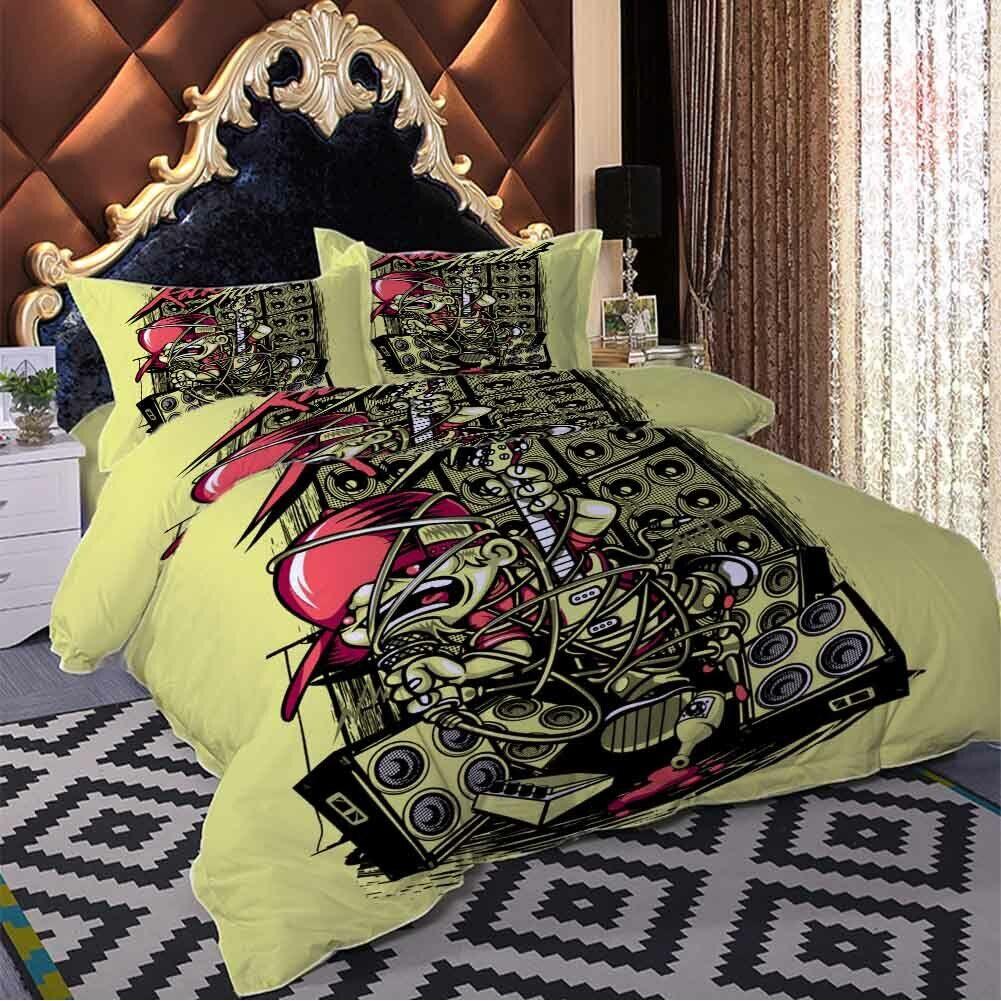 Sound Remnants 3D Printing Duvet Quilt Doona Covers Pillow Case Bedding Sets