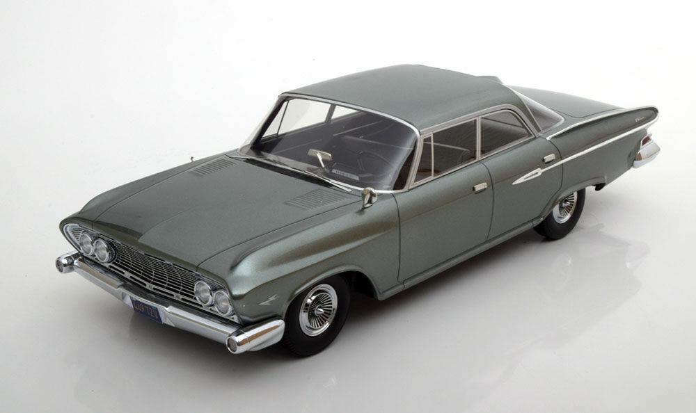 1961 Dodge Dart Phoenix grigio verde Metálico por Bos modelos Edición Limitada de 1000 1 18