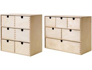 Ikea Moppe Minikommode Birke Sperrholz Aufbewahrung Schreibtisch 6