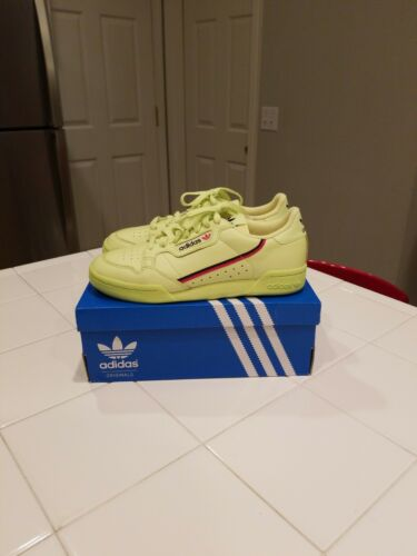 80 Continental semi B41675 yellow lifestyle Originals sneakers Adidas heren frozen wpZF5Exnq