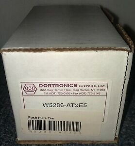 New-Dortronics-W5286-ATXE5-Push-Plate-Time-Delay-Emergency-Door-Release
