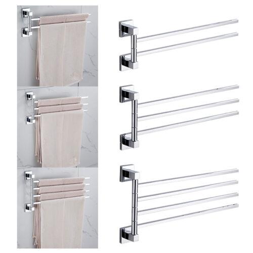 Handtuchhalter mit 2//3//4 Armen 180° Schwenkbare Handtuchstangen