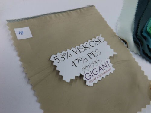 1M 53/% KUNSTSEIDE Futter Stoff  Kleider TAFT DEKO 53/% VISKOSE 47/% PES  118-132