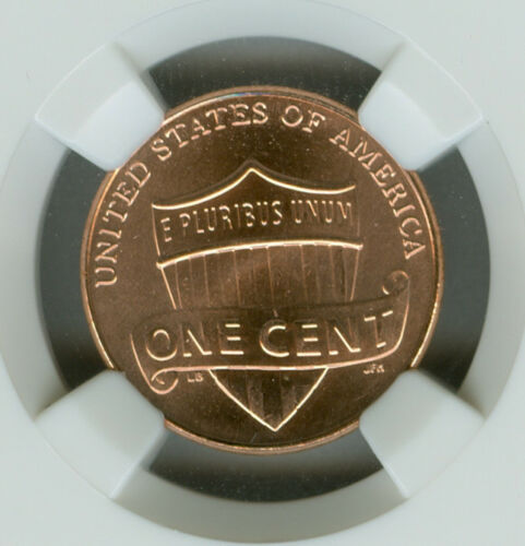 2011 LINCOLN CENT SHIELD NGC MS67 RED *