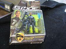 "GI Joe Rise of Cobra Wallace Ripcord Weems Impact Armor 3-3/4"" Action Figure NIP"