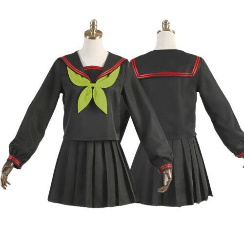 Kimetsu no Yaiba Demon Slayer Kamado Nezuko JK Uniforms Sailor Cosplay Costume
