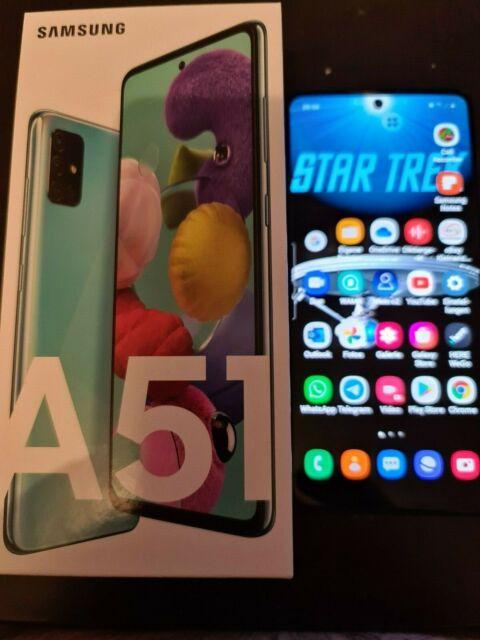 Samsung Galaxy a51 sm-a515f/dsn - 128 Go-PRISM Crush Blue (Sans Simlock)...