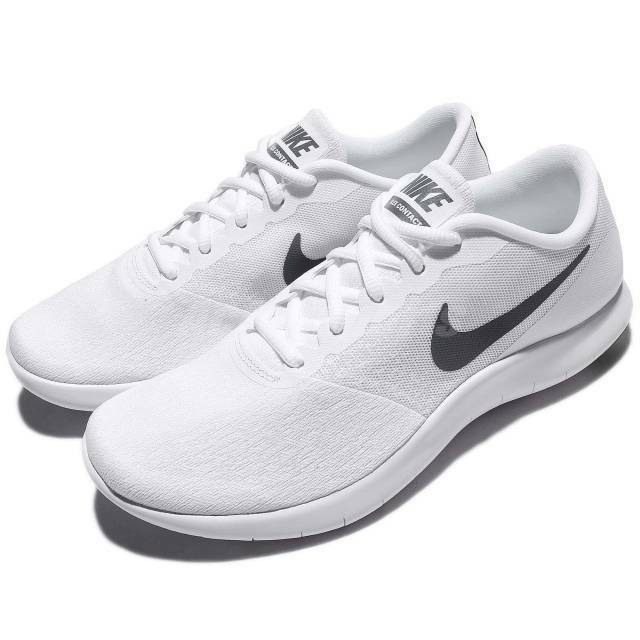 Nike Flex Contact 908983-100 Mens Running Shoes White/Cool Grey