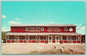 Rochester-Michigan-Middleton-Cider-Mill-amp-Country-Store-Wagon-Wheels-PC-1960s
