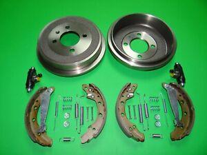 Bremsen Set hinten Bremstrommeln Bremsbacken VW UP Seat Mii Skoda Citigo