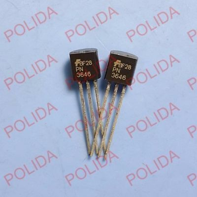 10PCS JFET Transistor FAIRCHILD//MOTOROLA//NSC TO-92 2N5459