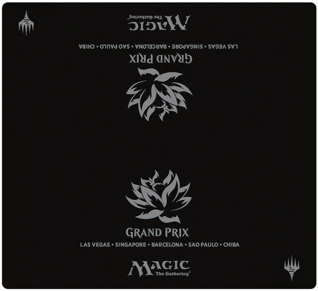 Magic The Gathering 2-player Black Lotus Playmat Custom MTG Play Mat Free Tube