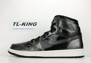 rozsądna cena bardzo tanie autoryzowana strona Details about Nike Air Jordan 1 Retro High Anti Gravity Black Patent  332550-017 L9.5 R 8 D CZ