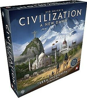 Terra Incognita Expansion Civilization Board Game