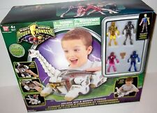MMPR PR 2010 power rangers RARE TITANUS MIGHTY MORPHIN SEALED White mini figures