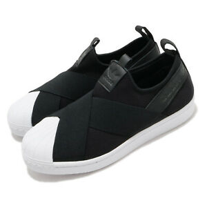 adidas-Originals-Superstar-Slip-On-Black-White-Womesn-Casual-Shoes-FW7051