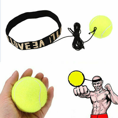 1pcs Boxing Punch Exercise Fight Ball with Head Band for Reflex Speed Training