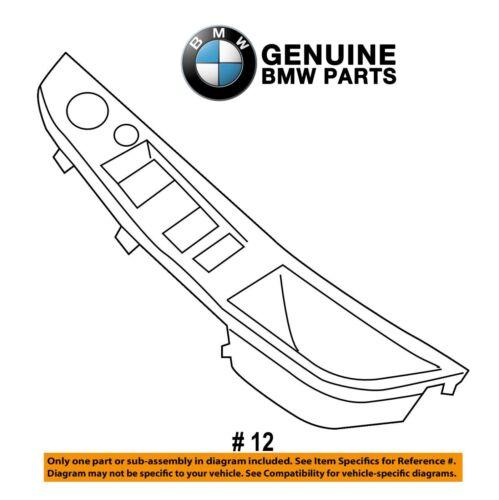For BMW F10 5-Series Driver Left Door Pull Handle Trim Cover Beige Genuine