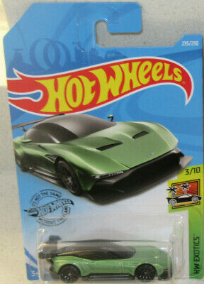 1 X 2019 Hot Wheels Green Aston Martin Vulcan Monmic Hot Looking Car New Vhtf Ebay