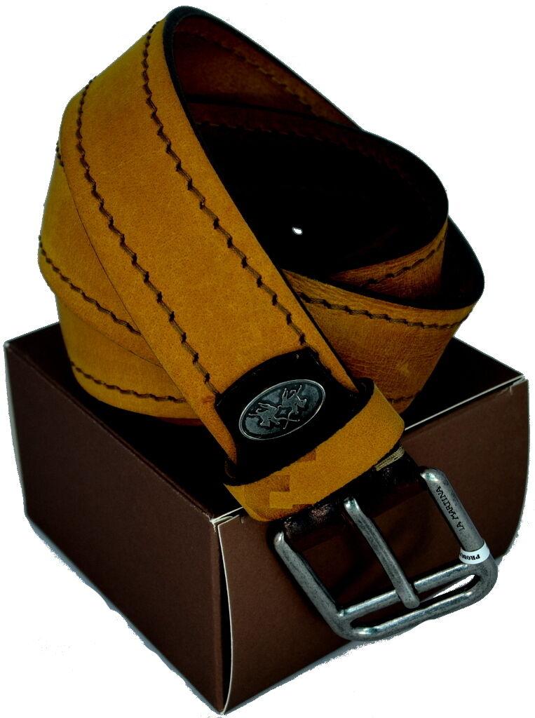 Belt Man Woman Yellow La Martina Belt Men Woman Yellow 023.B43