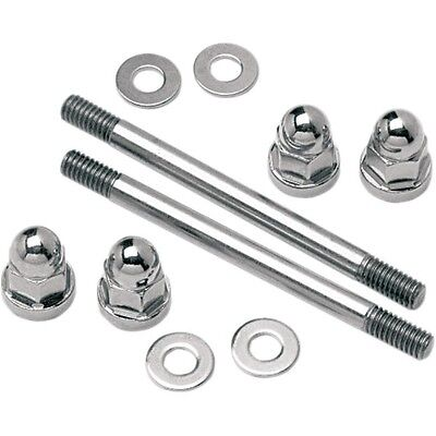 Gas Tank Mounting Hardware Kit Acorn Nut-Style with Stud   Colony 2128-5