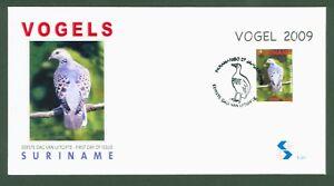 Suriname-2009-Orient-Turteltaube-Taube-Dove-Pigeon-Piccione-Block-107-FDC
