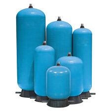 "80 Gallon Structural Water Retention Tank, Fiberglass Wound, 1-1/4"" Inlet"