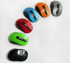 Pack of 5 PCS 2.4 GHz Wireless 6 Button 800/1600 DPI Optical Computer Mouse