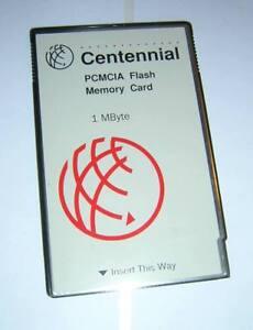 Centennial-1MB-PCMCIA-Linear-Flash-Memory-Type-I-PC-Card-FL01M-20-10141-01-3094
