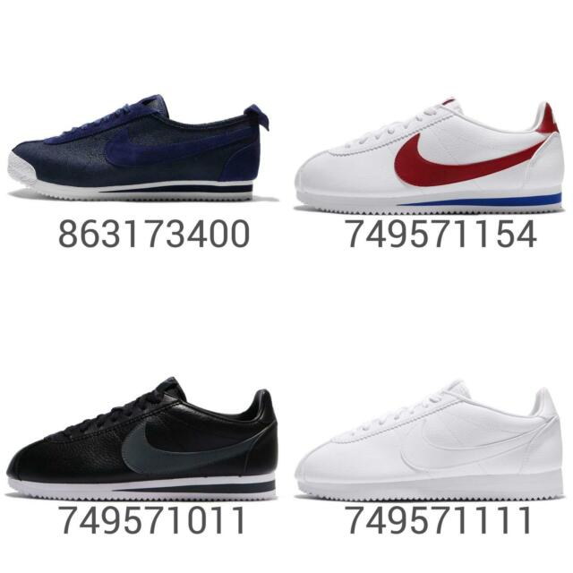 Nike Classic Cortez Leather 72 Prem Mens Running Shoes Sneakers Pick 1