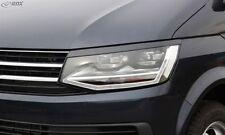 RACE DESIGN HEADLIGHT BROWS EYELIDS EYEBROWS VW T6 BUS MULTIVAN TRANSPORTER 2015