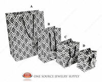 Gift Bags Damask Print Tote Party Supplies Paper Gift Bags Holiday Bags Wedding