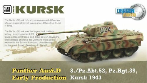 d early production /'43 nuevo Dragon Armor 60621-1//72 Panther ejec