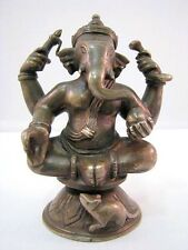 Ganesha Figur Bronze Eisenguss Figure Figurine 20. Jh.