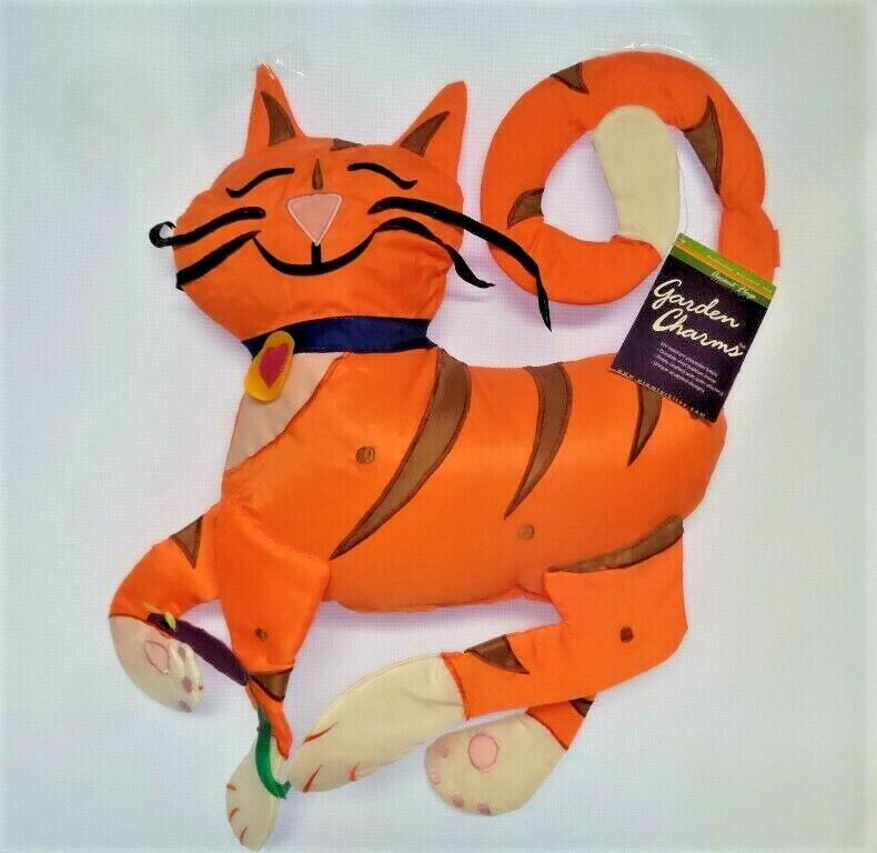 Cat and Mouse Garden Charms Flag by Premier. #9102, Inflate for 3D!
