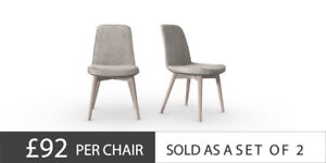 Image Is Loading Next Kenton Dining Chairs Set Of Legs For