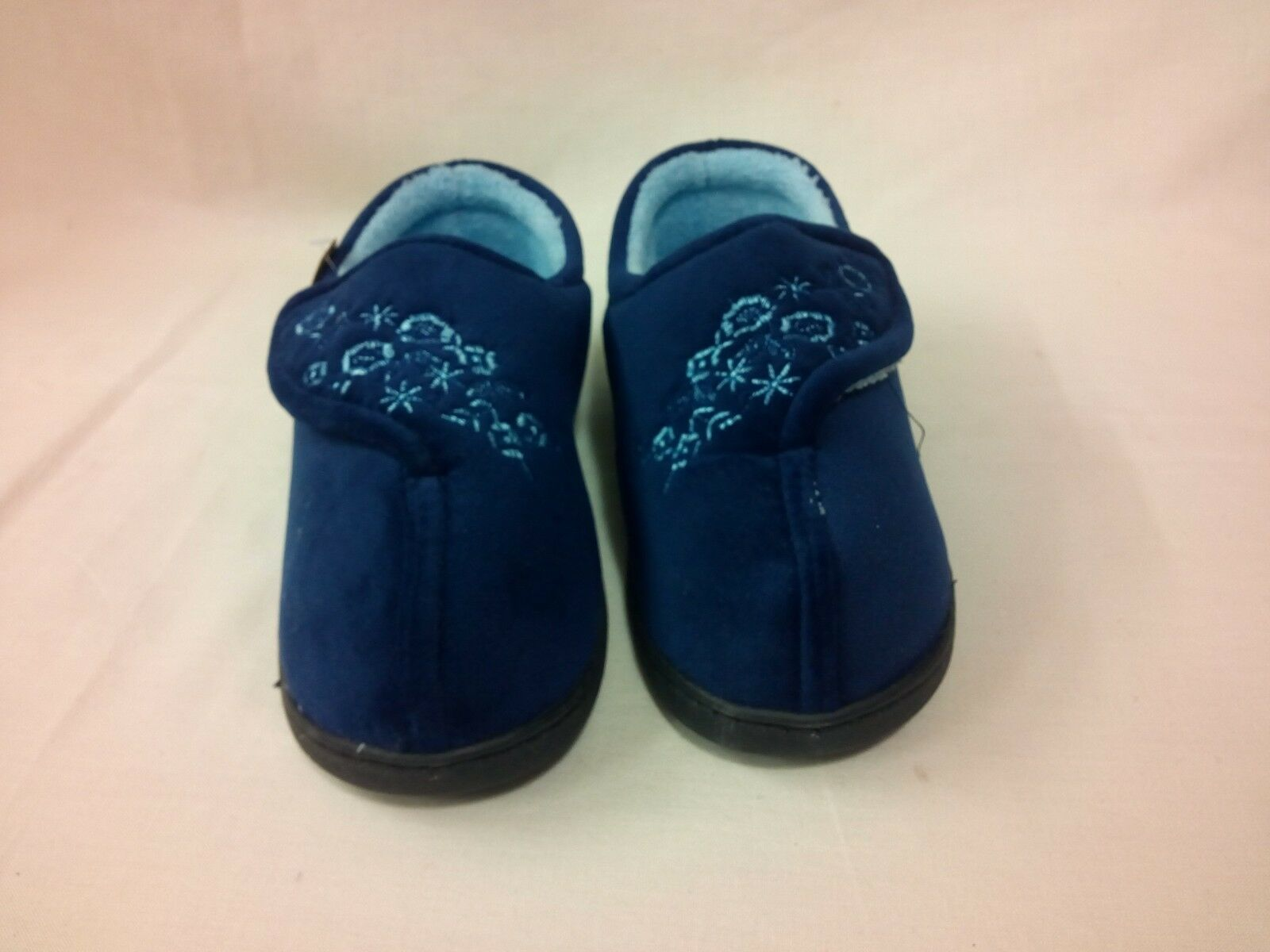 NEW PRINT WOMENS OPEN FRONT FLORAL PRINT NEW FUR WOMENS SLIPPERS COMFORT SHOES SZ 99ea3a