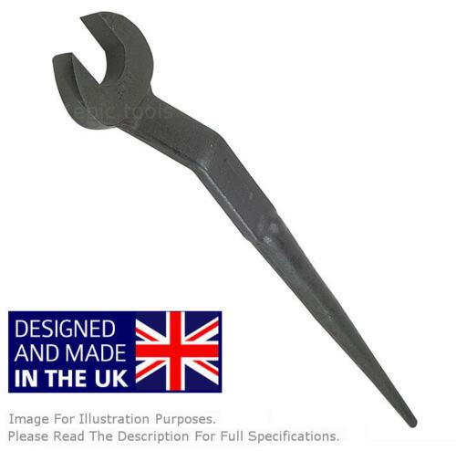 SNAIL UK 32mm Open End Solid Steel Erectors Beam Fixers Podger Spanner SOMB32
