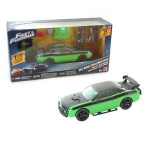 Fast and furious 2011 dodge challenger SRT8 kit 3 en 1 mattel FCG50