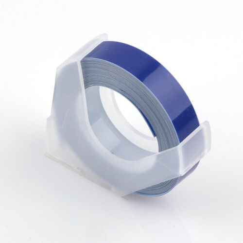 Multi Color Label Maker Embossing Refill Tape 9mm  Für MOTEX Dymo Practical