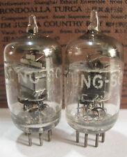 2 matched +/-1953 Tung-Sol JTL-6AJ5(6AK5,5654,403B,6J1)tubes - TV7D tested@24,25