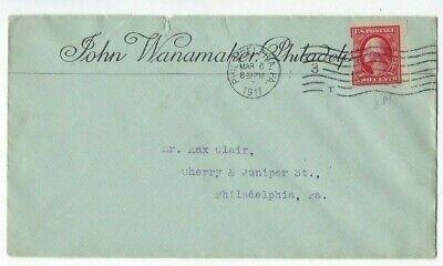 1911 Philadelphia Pennsylvania, 2c Schermack Automaten Perf John Wanamaker Seien Sie In Geldangelegenheiten Schlau