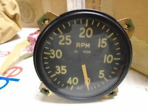 Parts & Accessories vintage ac aircraft tachometer p/n