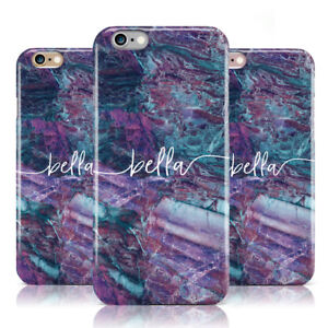 DYEFOR-PERSONALISED-GREEN-PURPLE-MARBLE-amp-NAME-PHONE-CASE-COVER-FOR-APPLE-IPHONE