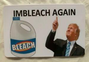 Imbleach wieder Anti Trump Magnet Joe Biden Präsident 2020 demokratischen entheben