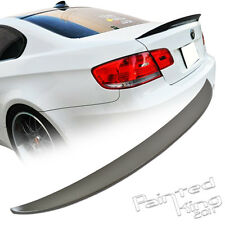 SHIP FROM LA!BMW E92 3-Series Coupe Performance Trunk Lip Spoiler Rear Wing ABS