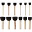 À faire soi-même 12 Mousse pochoir brosses-Idéal pour attouchement Peinture Dotting arts /& crafts